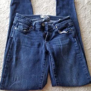 Paige Jeans size 25 skyline skinny polkadots